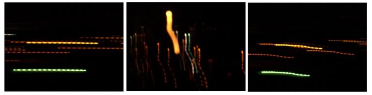 algunas luces en caracas, justo antes de amanecer