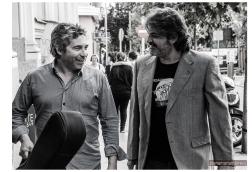Nono García y Gautama del Campo en Madrid