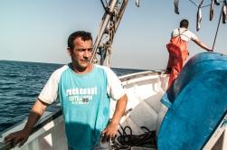 Sigue la espera a bordo del barco pesquero