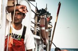 En el barco pesquero SyM