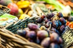 uvas, color de Mercado. foto @anamariamarrero