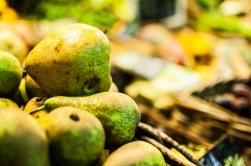 peras, color de Mercado. foto @anamariamarrero